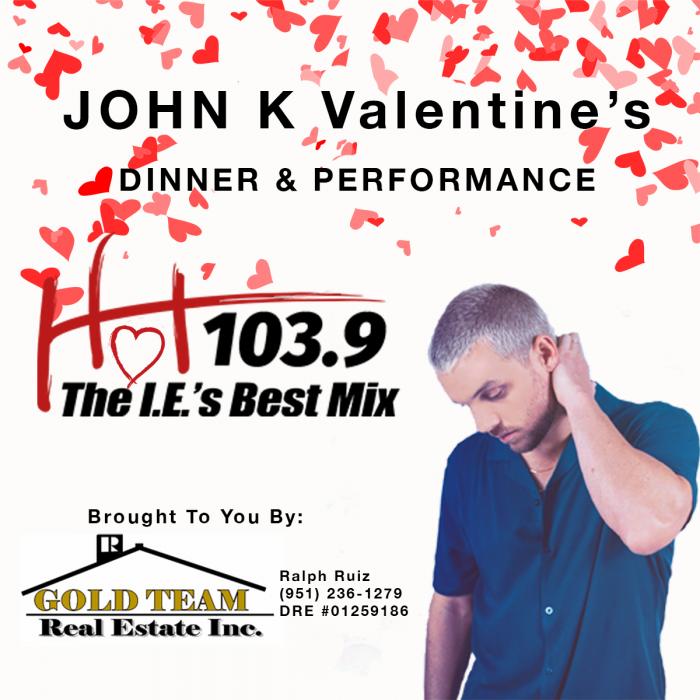 JOHN K VALENTINE'S DINNER AND PERFORMANCE