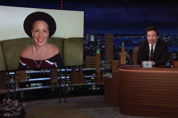WATCH: P!nk Plays 'Misname That Song' on 'Tonight Show'
