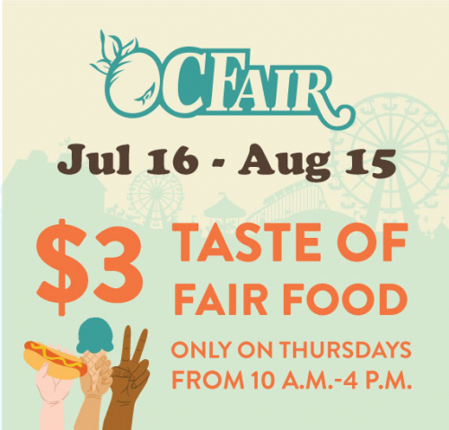 WIN TICKETS TO THE OC FAIR
