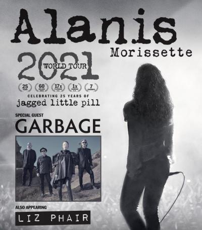 ALANIS MORISSETTE – OCTOBER 6, 2021