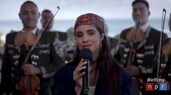 WATCH: Camila Cabello Debuts New Song 'La Buena Vida' on 'Tiny Desk Concert'