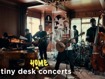 WATCH: Ed Sheeran Premieres New Song During Tiny Desk (Home) Concert