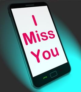 I Miss You On Phone Meaning Sad Longing Relationship