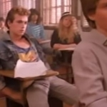 Luke Perry in Banned Twisted Sister Video