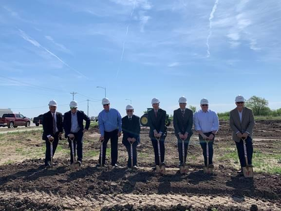 Governor Ricketts, City of Hastings Break Ground on New Housing Development