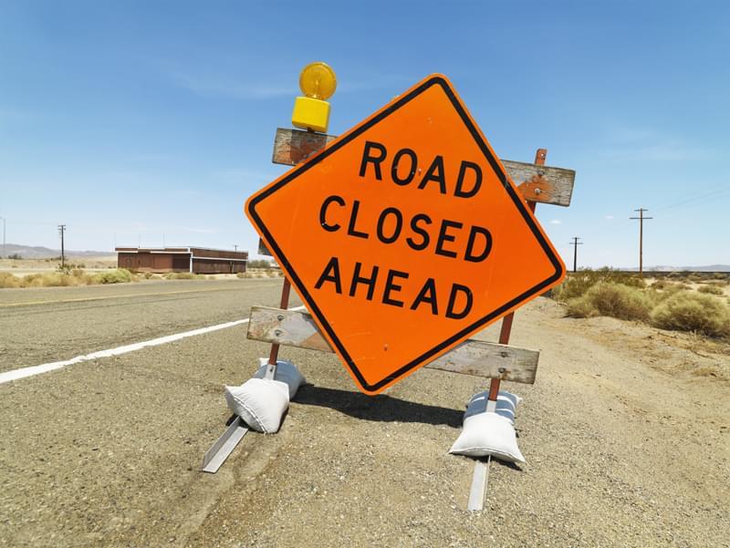 Road Repair Work: Near 25th Street and 5th Avenue