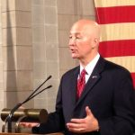 Governor Pete Ricketts provides updates on Floods and Trade