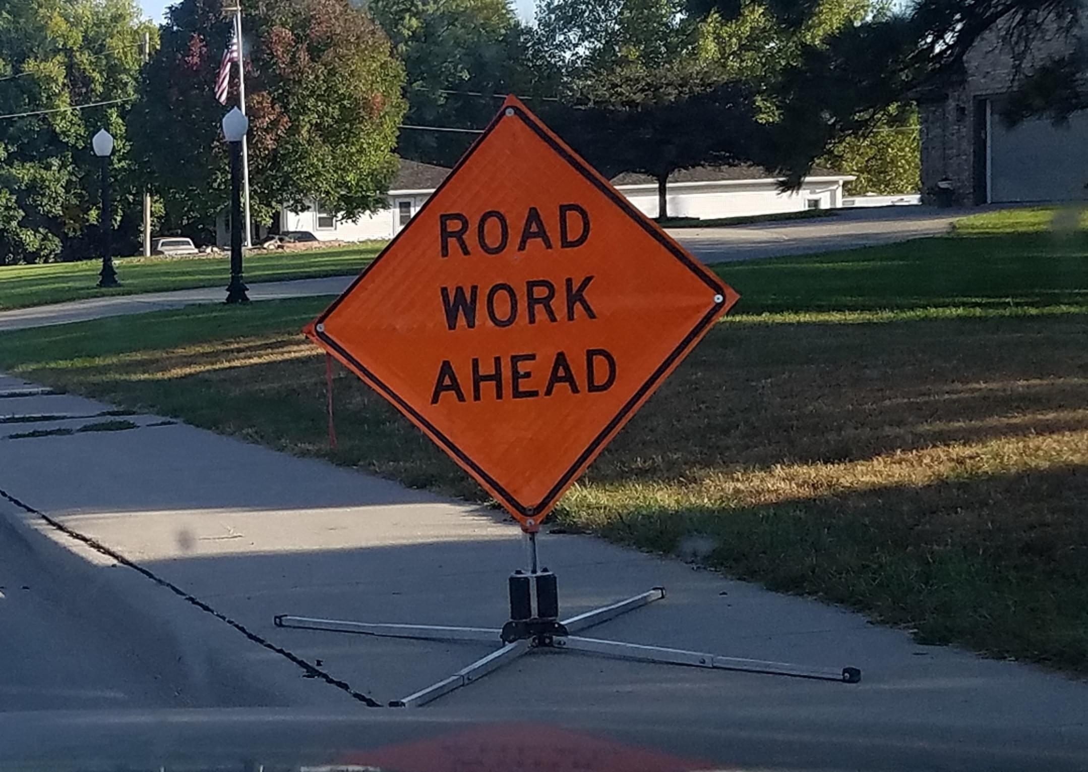 Concrete Repair Work: Avenue G and Railroad Street