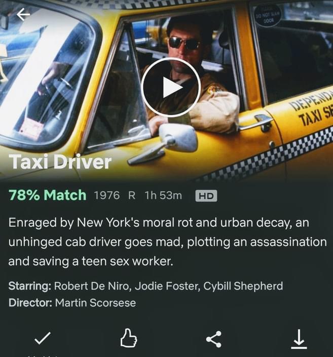 netflix - taxi