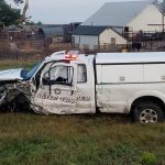 Nebraska State Trooper Injured in Crash in Saline County