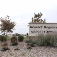 Kearney Regional Airport Sign