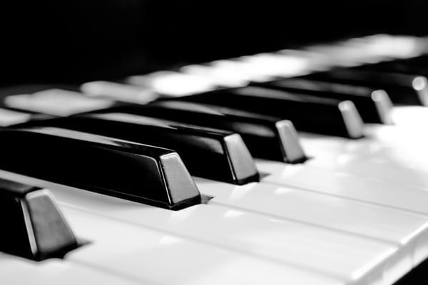 Black and white keys