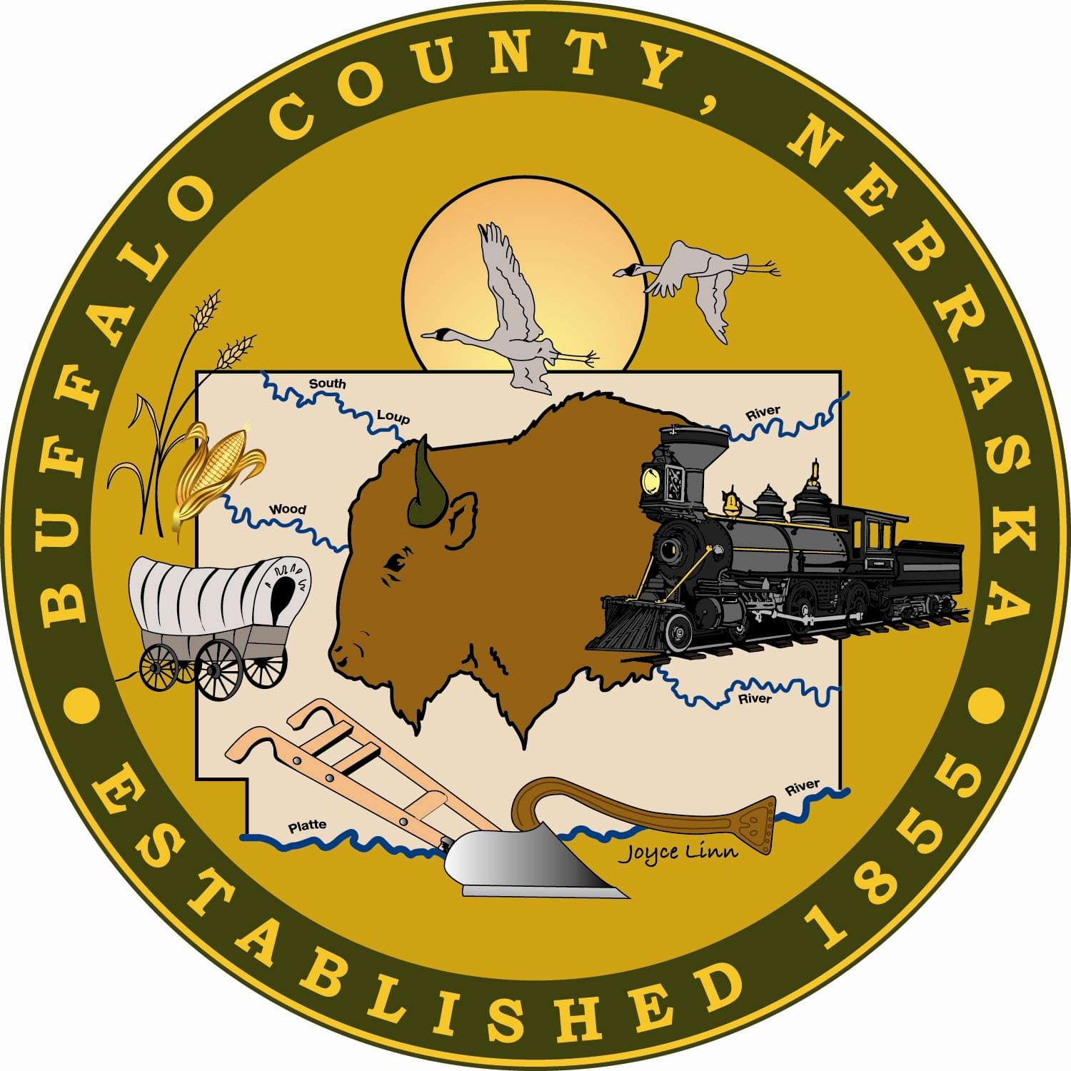 Buffalo County Seal
