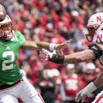 Husker Practice Notes: Kanawai Noa is a Big Believer in Adrian Martinez and the Offense, A Handful of Players are Competing for Time at Running Back