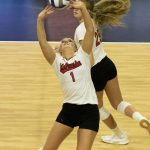 Huskers Sweep Hawaii to Earn Wisconsin Rematch