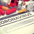 Coronavirus - Printed Diagnosis. Medical Concept.