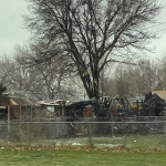 Kearney fire leaves garage burnt to the ground