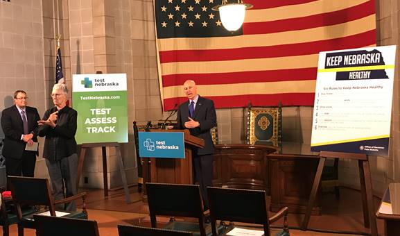 Gov. Ricketts Announces Relaxed Directed Health Measures in Additional Regions, Issues Guidance to Resume Baseball & Softball in June