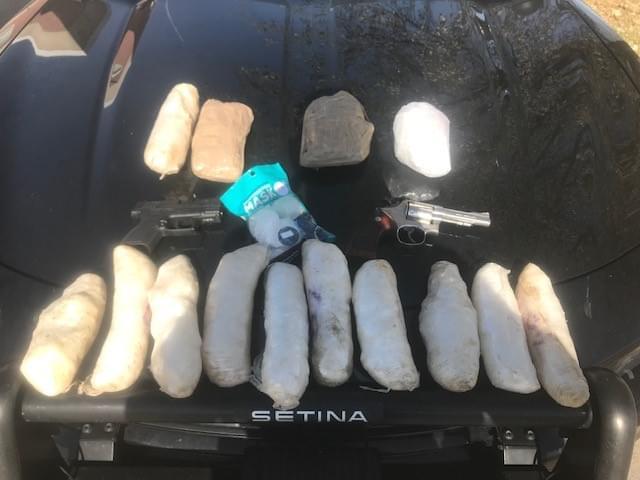 Methamphetamine Seizure in Traffic Stop Leads to Several Arrests