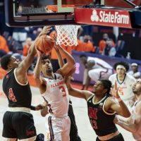 NCAA Basketball: Nebraska at Illinois