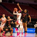 Huskers fall short in Big Ten Tournament against Maryland