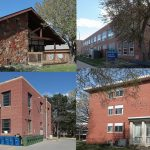UNK removing four buildings, including Otto Olsen, Conrad Hall