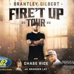Brantley Gilbert Lincoln Show info