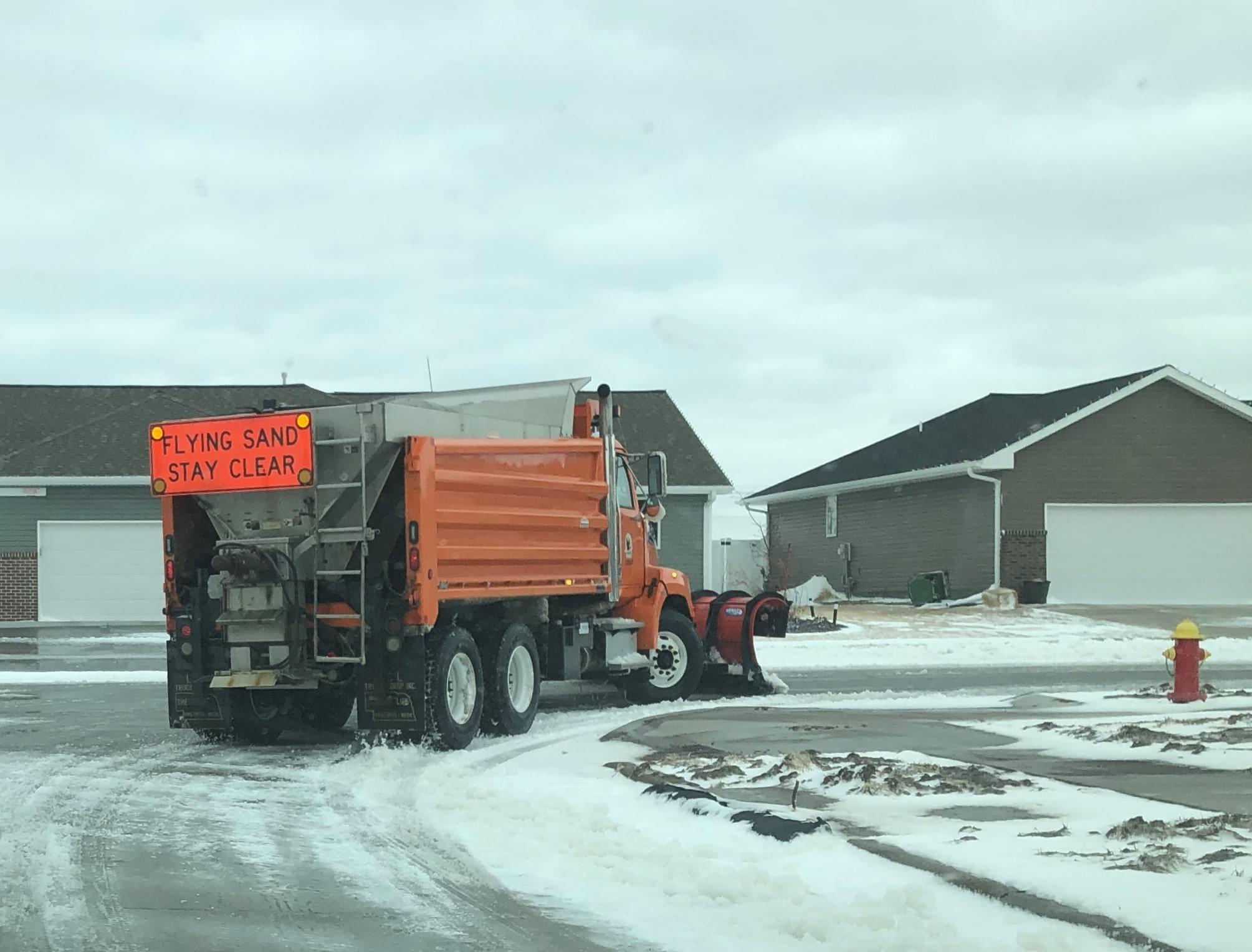 Declared Snow Emergency in Effect