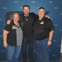 Lisa and tim with Chris Young