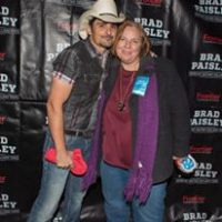 Lisa with Brad Paisley