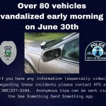 Kearney Police investigating car vandalism reports