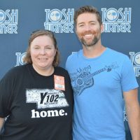 Lisa with Josh Turner