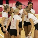 No. 4 Nebraska begins weekend with sweep at Rutgers