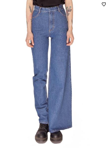 Asymmetrical Jeans?