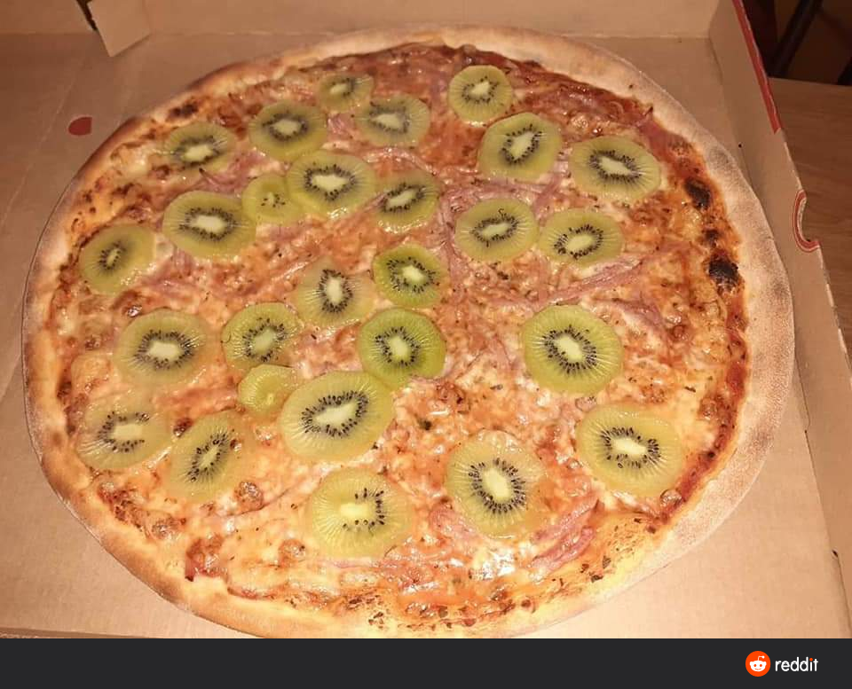 Move Over Pineapple Pizza, Kiwi Is Taking Over