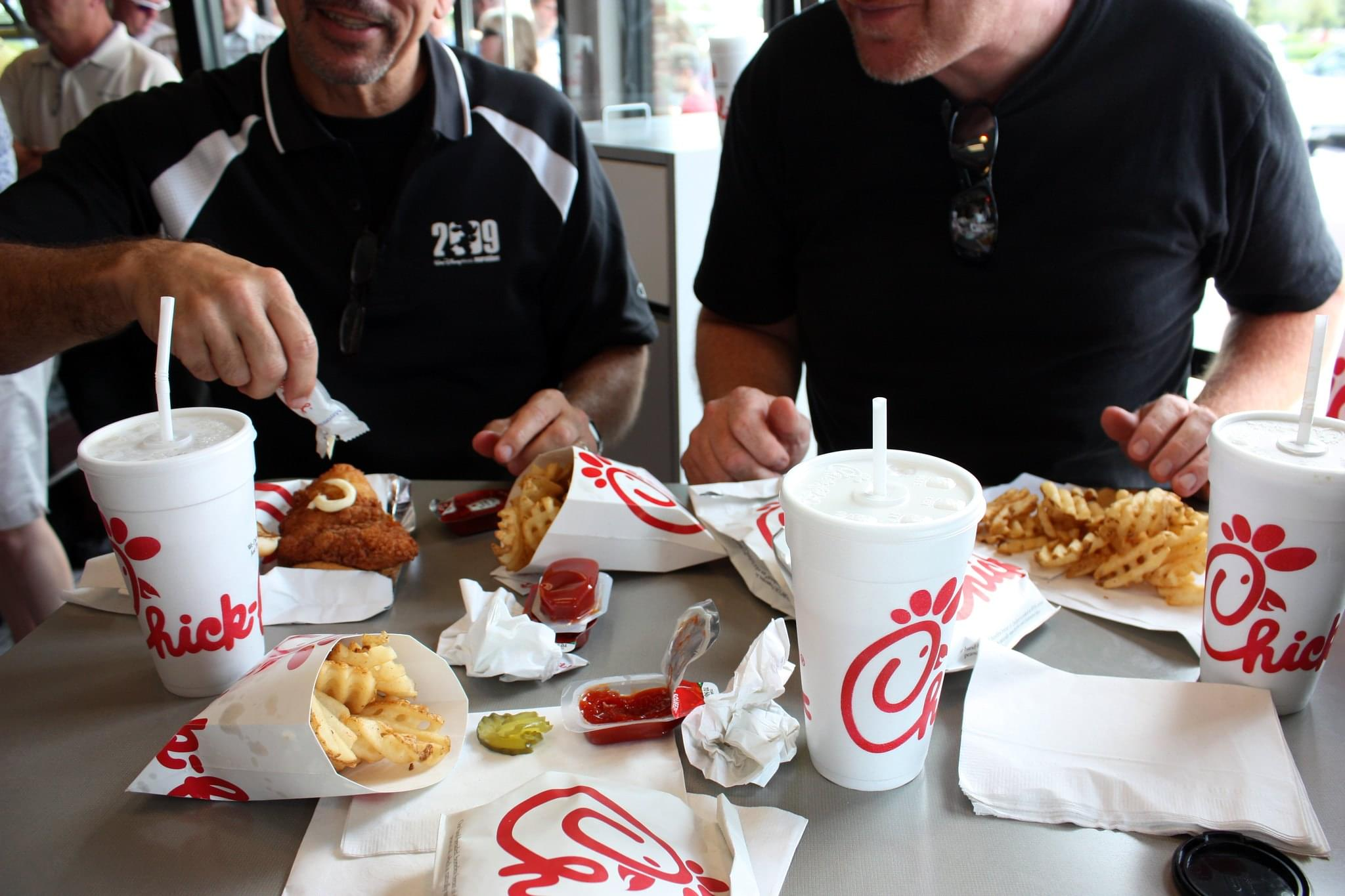 Chik-Fil-A Dipping Sauces Could Be In Your Fridge