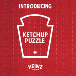 Heinz Ketchup's 570 Piece Puzzle With No Image