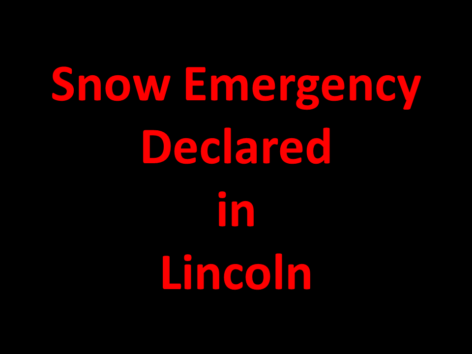 Snow Emergency Declared