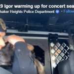 Police K-9 Sings Him Some Eric Church