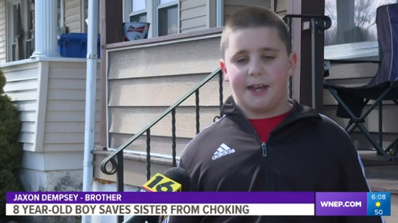 This 8-Year Old Is A Hero