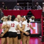 Nebraska sweeps Texas State to begin NCAA Tournament