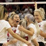 Nebraska Suffocates Ball State in Sweep
