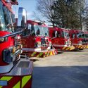 Lincoln Fire and Rescue Unveil Seven New Engines To Be Added To The Fleet