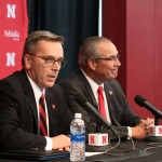 """Moos looks to """"honor past"""" and """"create a future"""" as Nebraska's new athletic director"""