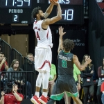 Copeland drops 30, Huskers rebound at home against North Dakota