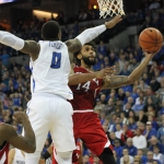 Huskers start fast, Jays pull away in second half