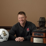 Scott Frost takes home Bear Bryant Coach of the Year award