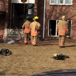 Apartment Fire Damages Kitchen Unit