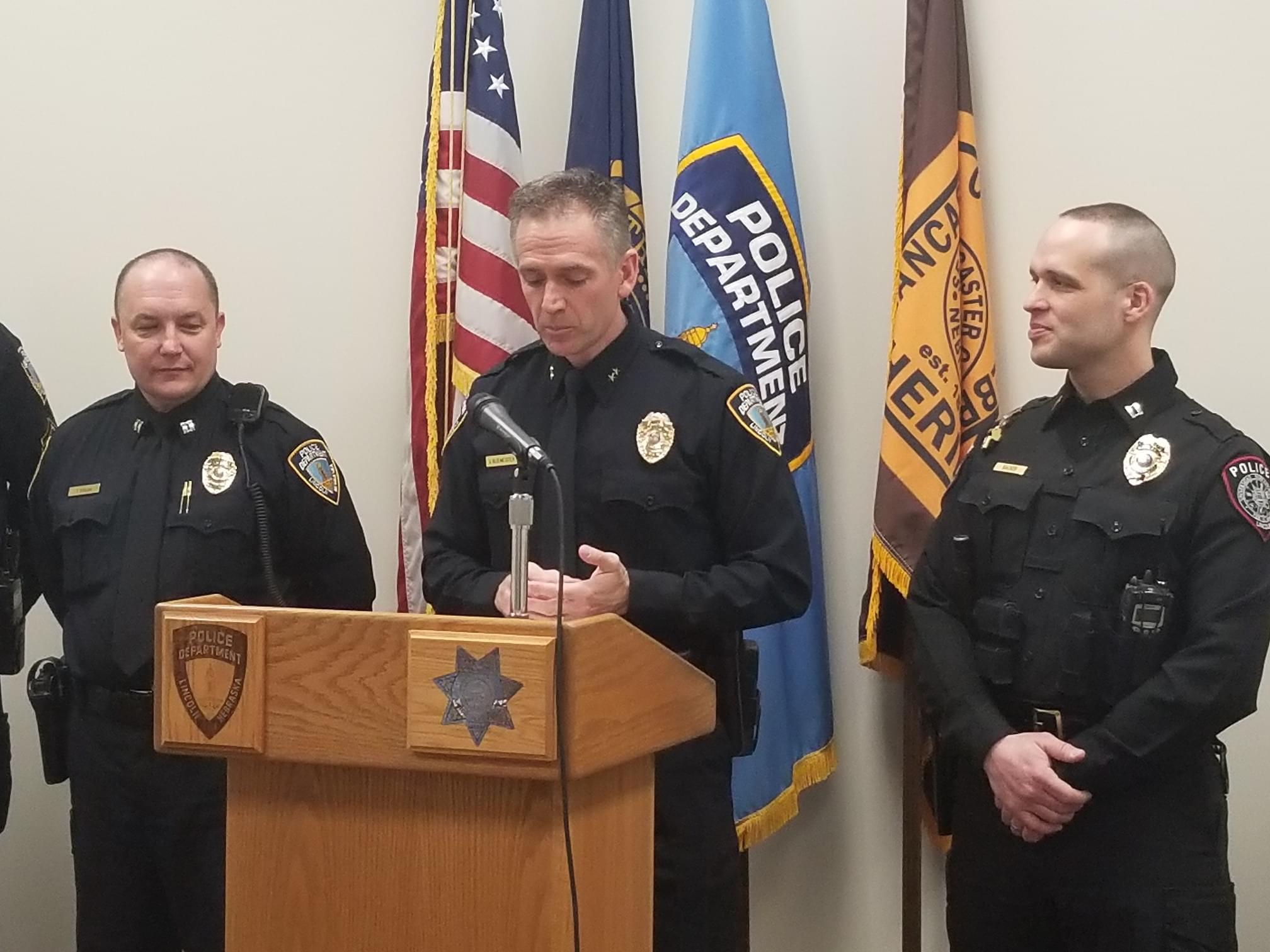 Lincoln Police, Lancaster County Sheriff's Office and University of Nebraska Police Prepare For April Seat-belt Campaign