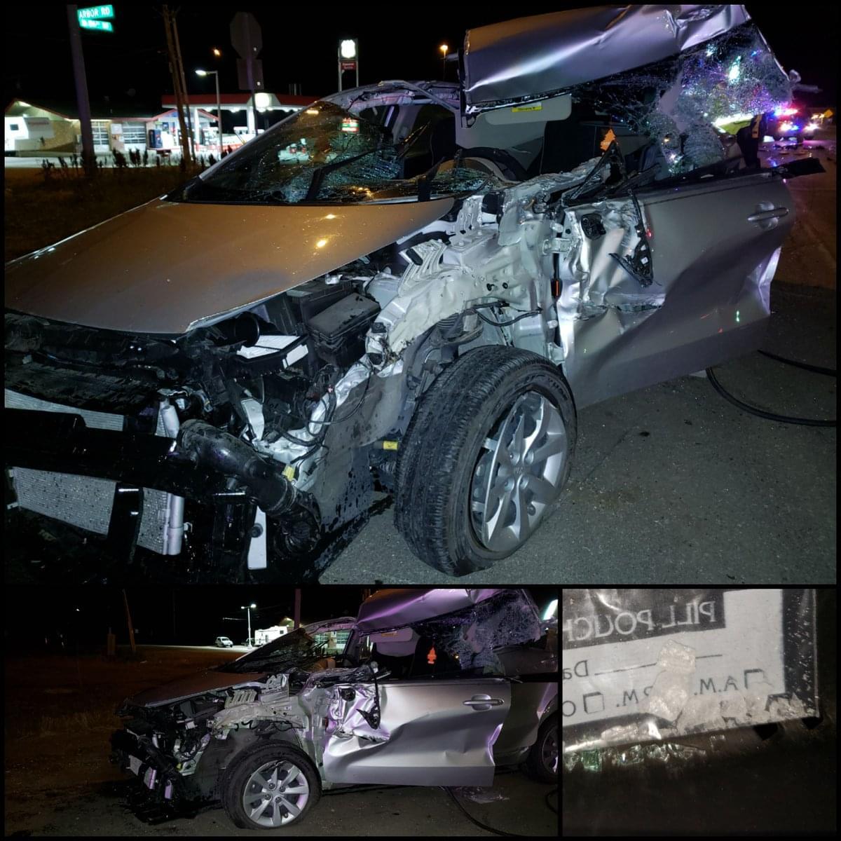 Woman Suffers Life-Threatening Injuries In Morning Crash